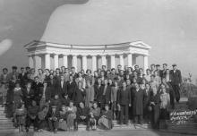 Колоннада Воронцовского дворца, 1920-е годы