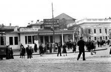 Одесса, площадь 1905 года (Тираспольская), Фотограф Борис Владимирович Зозулевич. 1957 г.