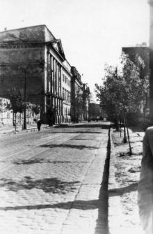 Одесса, ул. Свердлова. Фотограф Андрей Онисимович Лисенко. Конец 1940-х гг.