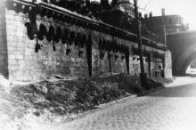 Cпуск Вакуленчука, справа Новиков мост. Фотограф Андрей Онисимович Лисенко. Конец 1940-х гг.