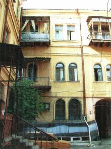 Бунина, 19. Двор. 2003 г.