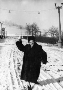 Одесса. Парк Шевченко. 1956 г.
