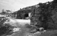 Катакомбы в селе Нерубайское, музей партизанской славы. 1964 г.