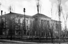 Вид на дом № 13 по ул. Дидрихсона. 1943 г.