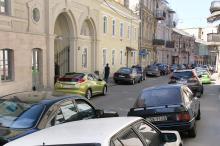 Воронцовский переулок. Фото Вячеслава Тенякова, март, 2017 г.
