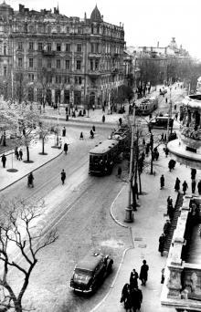 Фотография из фонда ЦГКФФА Украины им. Пшеничного, 1949 г.