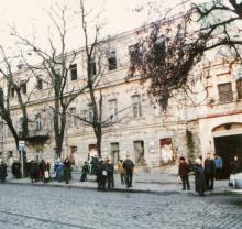 Одесса. Дом № 77 по Нежинской улице, конец 1990-х гг.