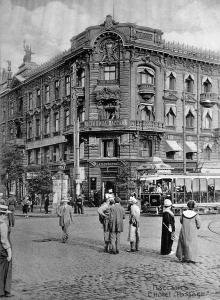 Пассаж. Из фотоальбома, изданного И. Покорным. Одесса, 1914 г.