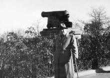 Возле памятника «Пушка». 1968 г.