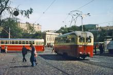 Тираспольская площадь, конец 1970-х годов