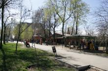 Одесса. Михайловский сквер. Фото В. Тенякова. 04 апреля 2017 г.