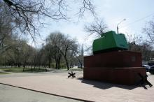 Одесса. Серединский сквер. Фото В. Тенякова. 04 апреля 2017 г.