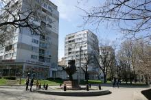 Одесса. Бульвар Жванецкого. Фото В. Тенякова. 04 апреля 2017 г.