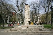 Одесса. Сквер им. Томаса. Фото В. Тенякова. 06 апреля 2017 г.