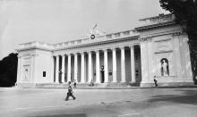 Здание горисполкома после реставрации. 1980 г.