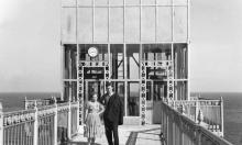 Лифт в санатории им. Чкалова. 1950-е гг.