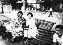 Одесса. Парк Шевченко. 1963 г.