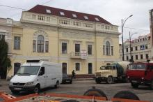 Дом № 68 по Нежинской улице, вид с ул. Тираспольской. Фото Е. Волокина. Одесса. 11 октября 2016 г.