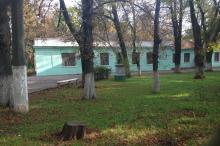 Санаторий «Зеленая горка». Фото Е. Волокина. Одесса. 10 октября 2016 г.