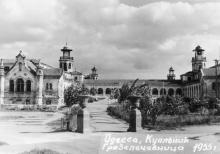 Одесса, Куяльник. Грязелечебница. 1955 г.
