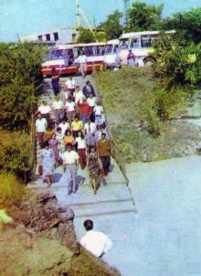 Фото в путеводителе «Музей в катакомбах», 1977 г.
