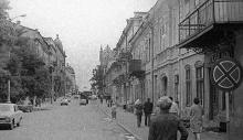 Улица Ланжероновская, середина 1970-х годов