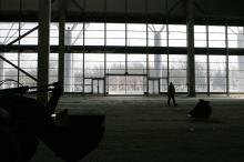 Строительство нового терминала Одесского аэропорта. Фото В. Тенякова. 06 апреля 2016 г.