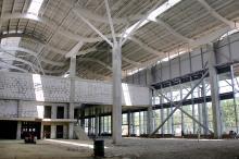 Строительство нового терминала Одесского аэропорта. Фото В. Тенякова. 04 сентября 2015 г.