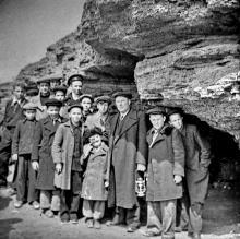 Вход в катакомбы. Фото Георгия Зозулевича. 1950 г.