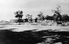 Пассажирский павильон на Куликовом поле на месте будущей станции Одесса-Главная, 1870-е годы