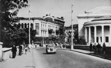 Одесса. На Сабанеевом мосту. Фото О. Малаховского. Почтовая карточка. 1961 г.