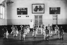 Активисты по физической культуре в санатории ВЦСПС. Одесса. 1939 г.