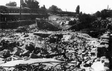 Перрон вокзала, 1944 г.