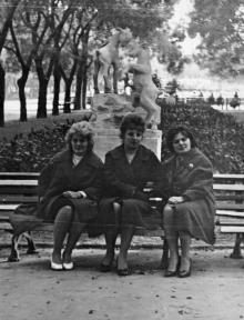 В сквере им. Кирова. 1963 г.