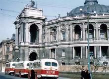 Одесса. Театр оперы и балета. Фотограф Хорст Кох. 1956 г.