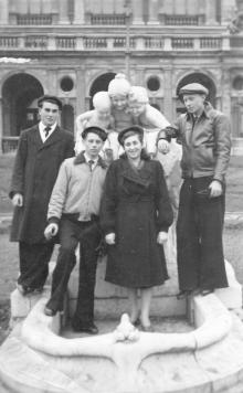 Фонтан «Молодость». 1951 г.