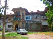 Здание бывшего санатория им. Ленина. Фото Жанны Пирожанской. 2014 г.