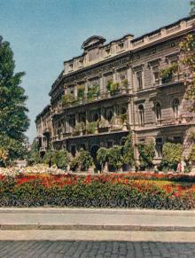 Площадь Карла Маркса. Фото в книге-фотогармошке «Одесса». 1960-е гг.