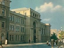 Средняя музыкальная школа имени П.С. Столярского. Фото в книге-фотогармошке «Одесса». 1960-е гг.