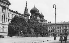 Одесса. Свято-Пантелеймоновский монастырь на Новорыбной улице. 1942 г.