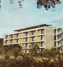 Дом отдыха пограничных войск «Одесса-Аркадия». Фото в фотобуклете «Аркадия», 1974 г.