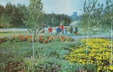 Парк им. В.И. Ленина. Фото в фотобуклете «Аркадия», 1974 г.
