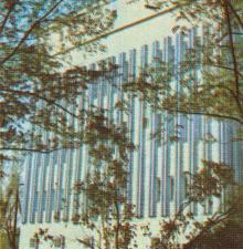 Новая водогрязелечебница санатория им. Дзержинского. Фото в фотобуклете «Аркадия», 1974 г.