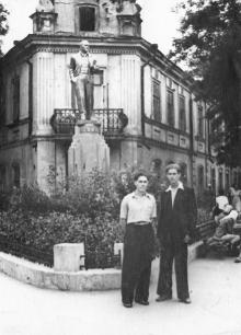 Одесса, Богдана Хмельницкого угол Мизикевича. 1960-е гг.