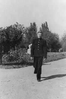 В сквере 9 января. Одесса. 1946 г.