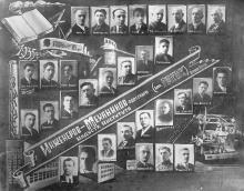 Выпуск инженеров-механиков Одесского индустриального института. 1935 г.