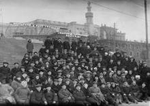Экскурсия в порт сан. ВЦСПС. «Лестница Потемкина». Одесса. 1938 г.