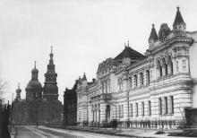 Мещанская церковь. Вид со Старопортофранковской улицы