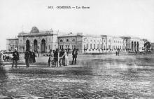 Вокзал и привокзальная площадь ( — 1917)