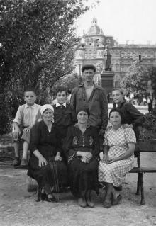 Одесса. На площади 10-летия Красной Армии. 1930-е гг.